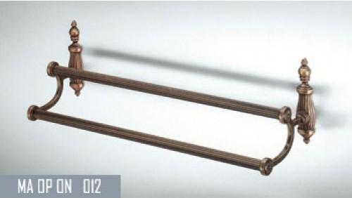 Вешалка ALLPE ONDINE BR ON012 бронза двойная 53см.