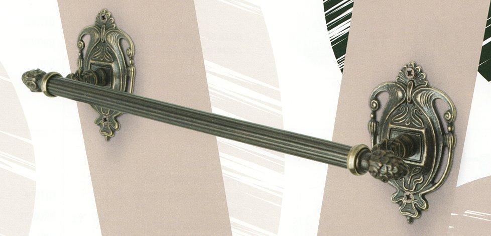 Вешалка для полотенца ALLPE VENEZIA BR VZ014 бронза 39 см.