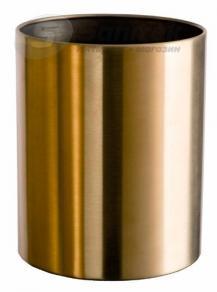 Ведро ALLPE 7L (Офисс 23/28) CV011 BR бронза