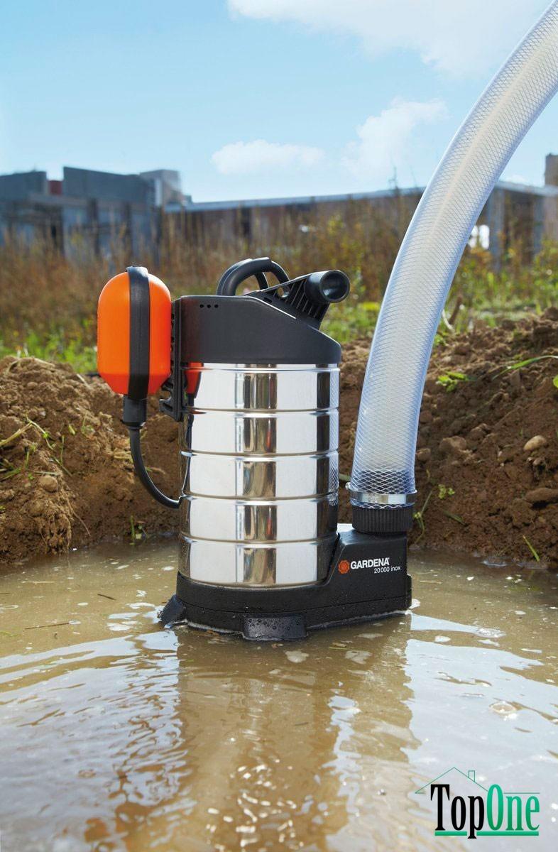 дренажный насос для грязной воды с поплавком