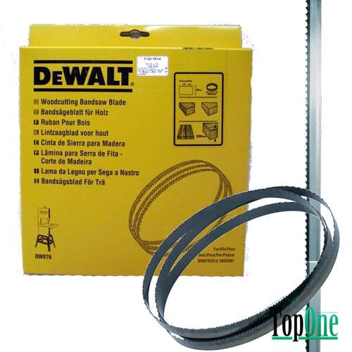 Полотно для ленточной DeWALT DT8474