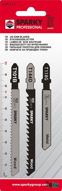 Набор пилок Sparky Т118G, T101B, T144D (3 шт) 20009501014