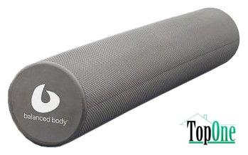 Ролик 105-032, BALANCED BODY Swirlie Gray Roller (15 х 91 см.)