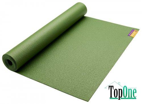 Коврик для йоги HUGGER-MUGGER Sticky Mat (оливковый)