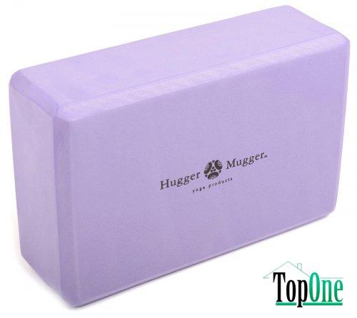 Блок для йоги HUGGER-MUGGER 3 (пена)