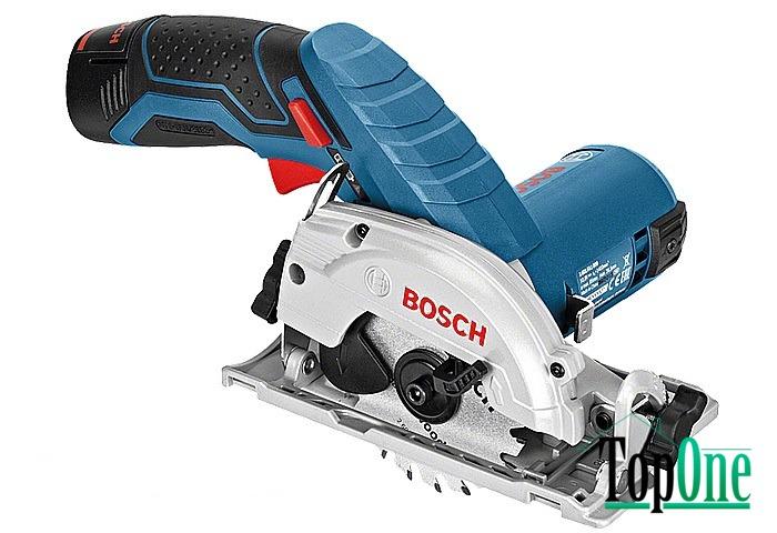 Аккумуляторная циркулярная пила Bosch GKS 10,8 V-LI Картон соло (06016A1001)