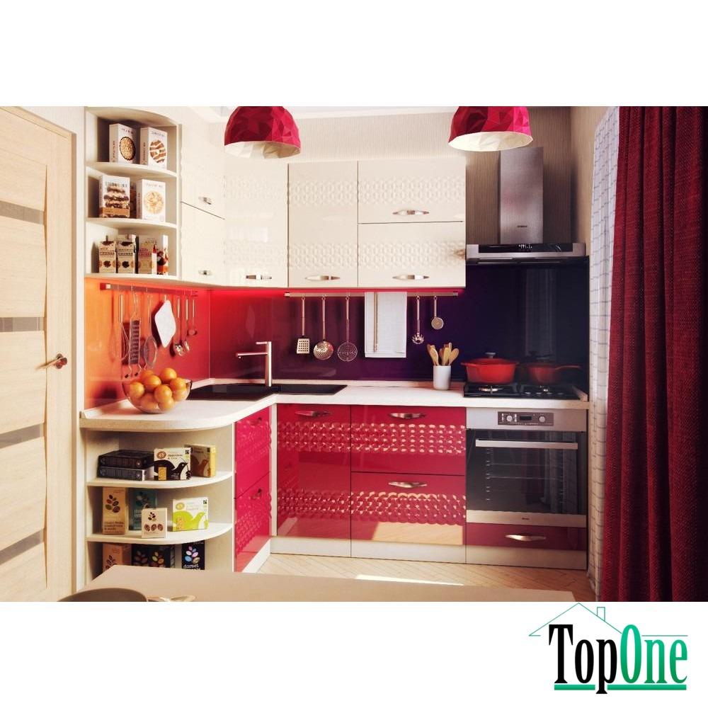 Угловая кухня juice 1,5 м х 2,2 м альфа-мебель :: topone.