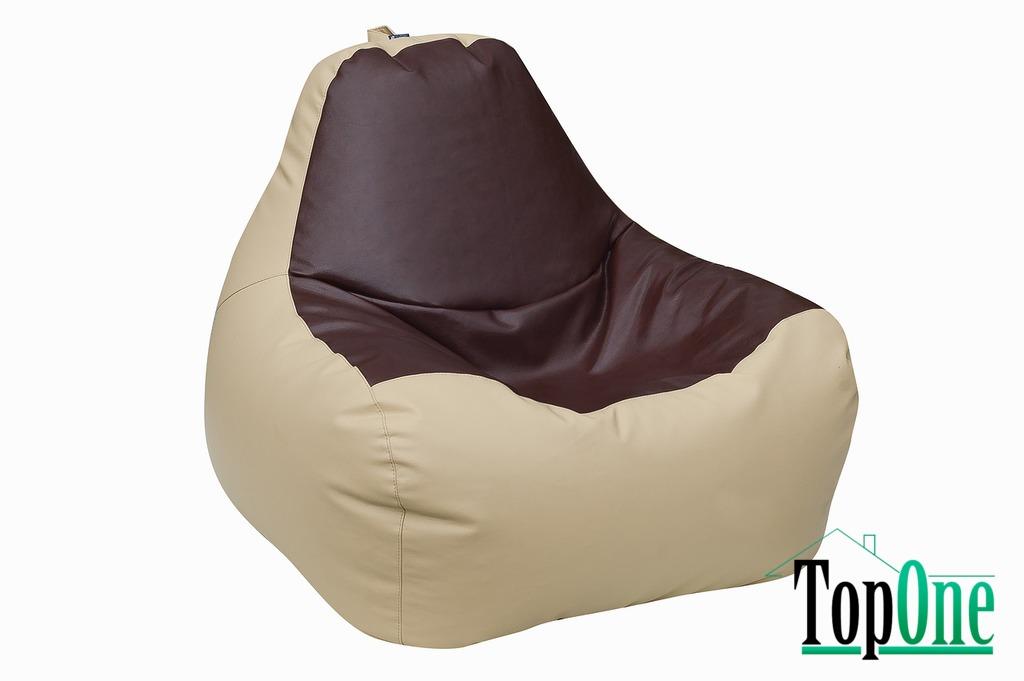Кресло-Груша Примтекс Плюс Simba H-2201/H-002 M Beige-Brown