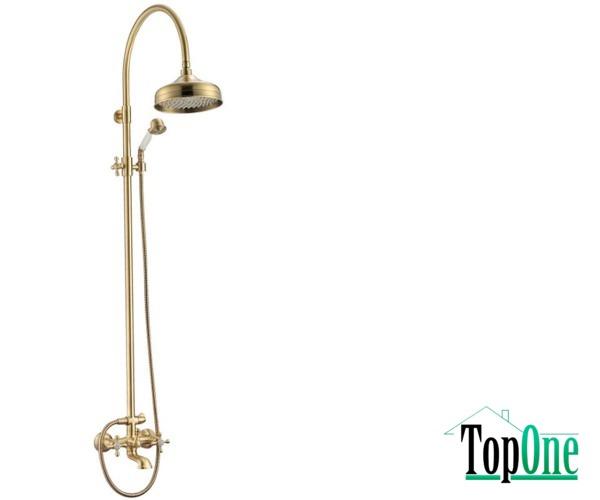 См MIXXENРОМА ванна бронза (з колоною) з/акс. MXAL0361BR