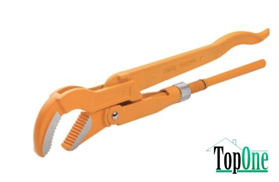 Ключ трубный TOLSEN 90°, 3 (10254)
