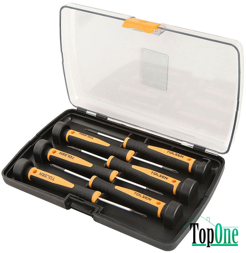 Набор мини-отверток TOLSEN Эрго 6 шт. (20030)