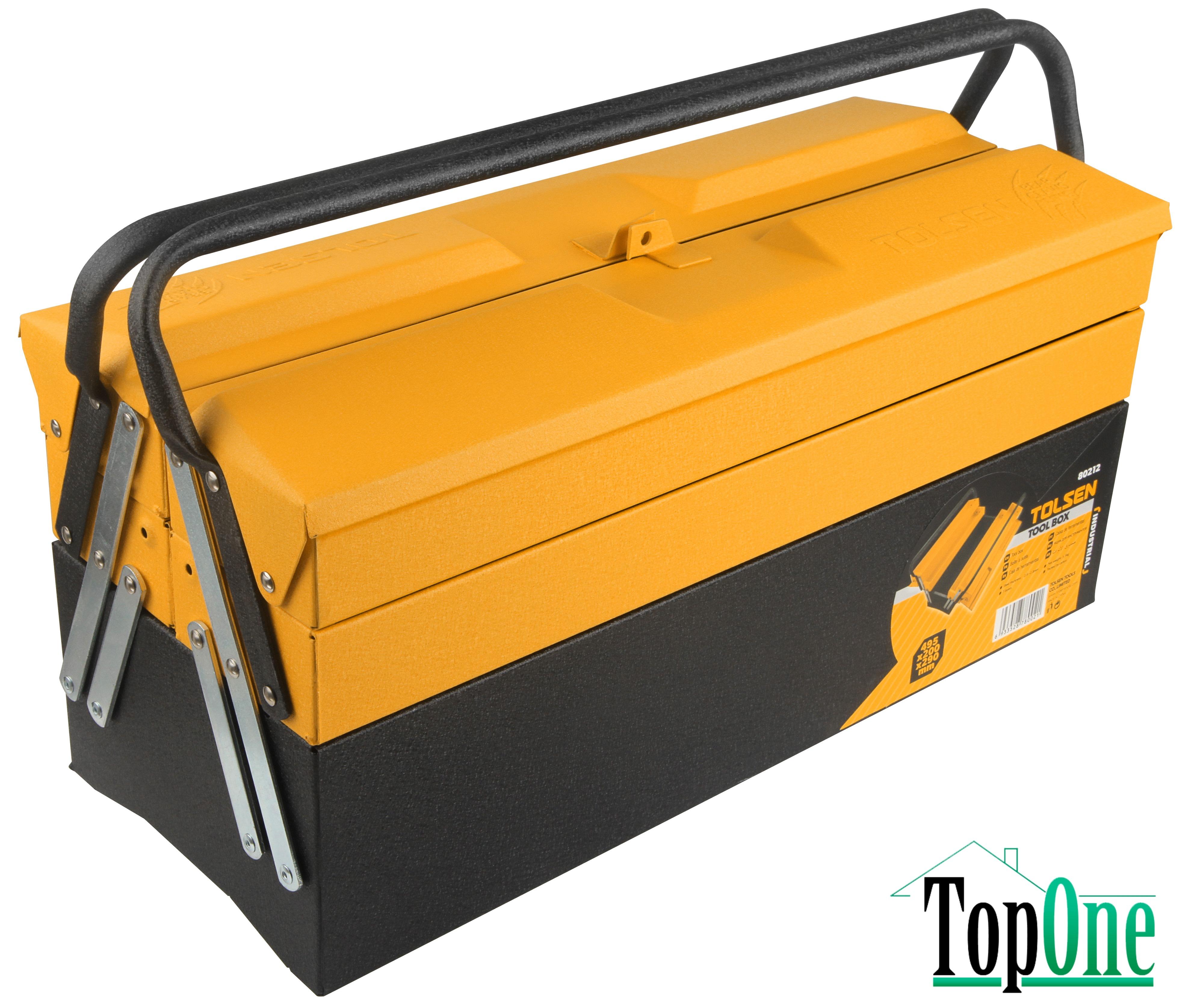 Ящик для инструментов TOLSEN Профи 495х200х290 мм TOLSEN (80212)