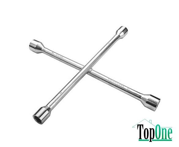 Балонный ключ TOLSEN 355 мм, 17-19-21-23 мм (15079)