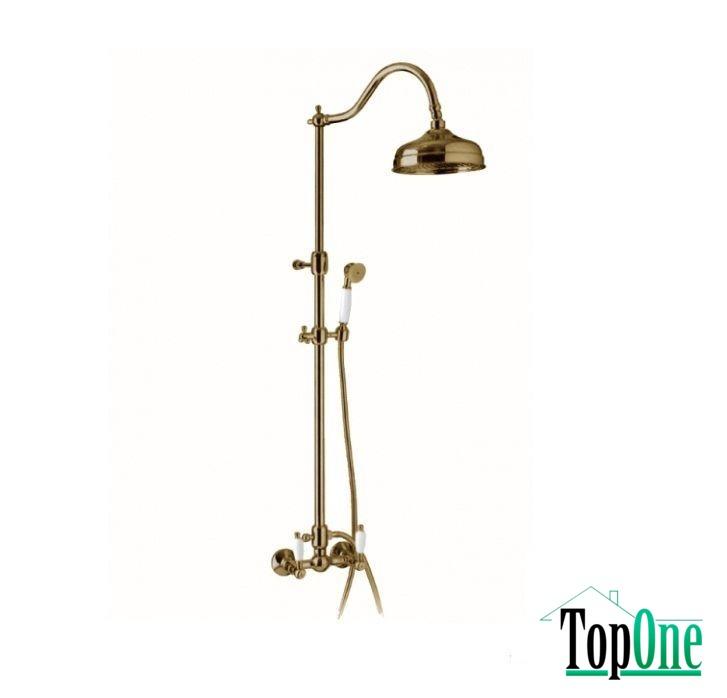 Смеситель Emmevi DECO ceramica душ/колонна бронза BR12100281