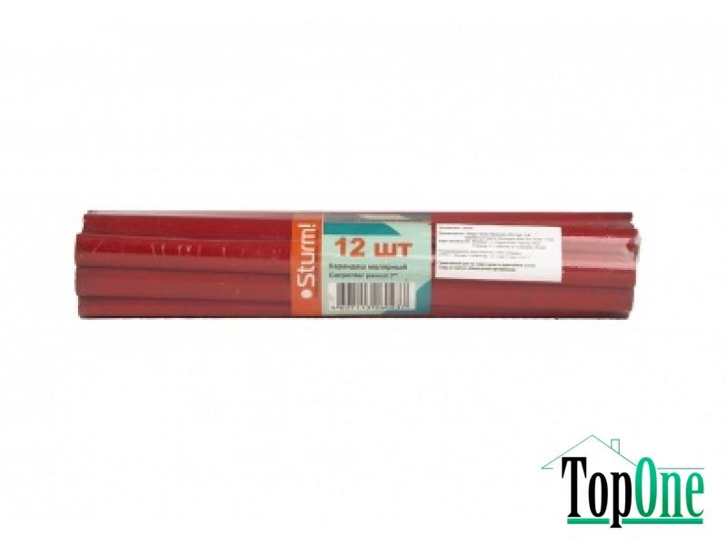 Набор карандашей малярных 12шт Sturm 1090-06-KM12