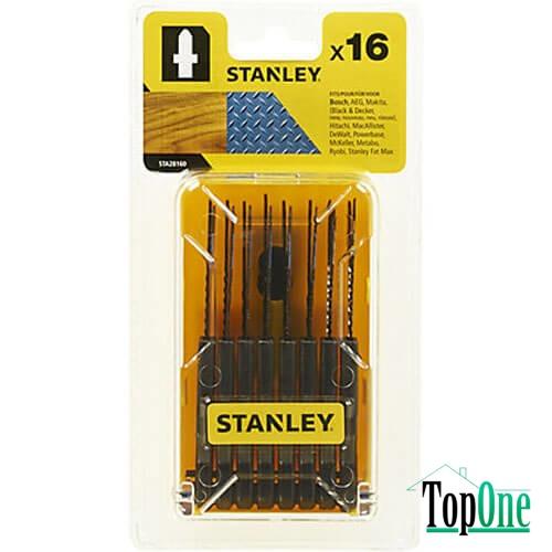 Набор полотен для лобзика STANLEY (STA28160)