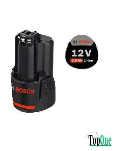 Аккумуляторная батарея Li-ion Bosch GBA 12 V, 3.0 Ач (1600A00X79)