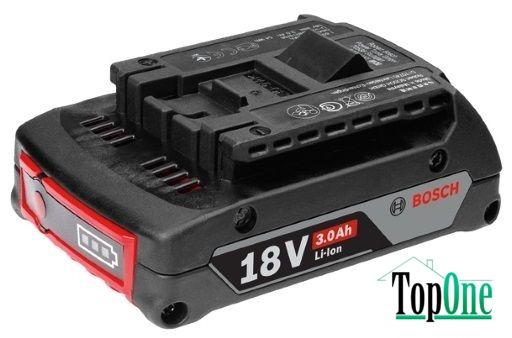 Аккумуляторная батарея Bosch GBA 18 В 3.0 Ач (1600A012UV)
