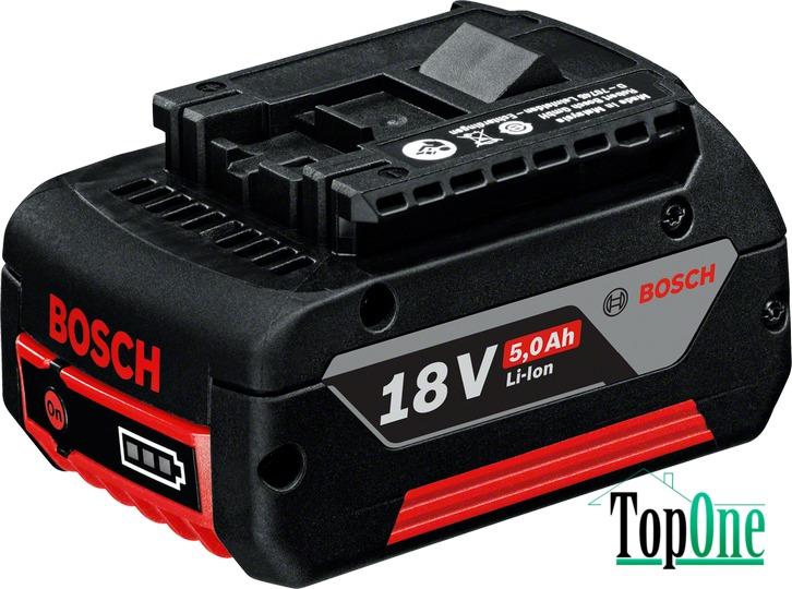 Аккумуляторная батарея Bosch GBA 18 В 5.0 Ач (1600A002U5)
