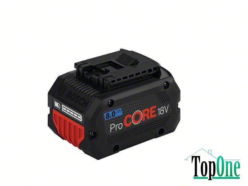Аккумуляторная батарея Bosch ProCORE 18V 8.0 Ач (1600A016GK)