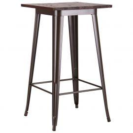 Стол AMF Slash, кофе 521114