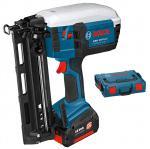Гвоздезабиватель аккумуляторный Bosch GSK 18 V-LI, L-BOXX 0601480304