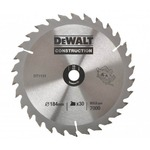 Пильный диск 30 зубъев, DeWALT DT1143