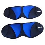 Отягощение FOREMAN для рук/ног фиксированное 1,5 кг/шт, синий/черный, пара