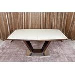 Стол обеденный DETROIT (160/220*90*76cmH) венге/крем MD000135