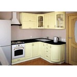Угловая кухня Готика 2,0 м х 1,6 м Альфа-Мебель