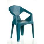 Кресло пластиковое Special4You Muze Teal blue E0680