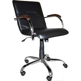 Кресло Примтекс Плюс Samba GTP chrome wood 1.031 CZ-3 Black